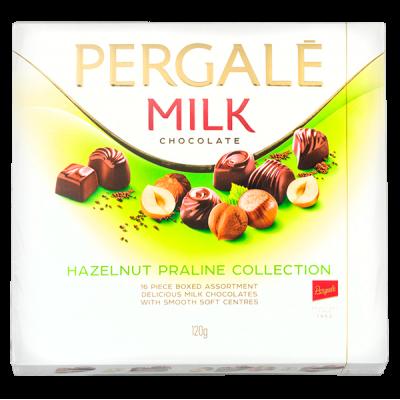 конфеты PERGALE HAZELNUT PRALINE COLLECTION 120 г 1 уп. х 10 шт.
