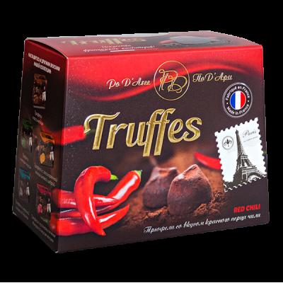 конфеты MATHEZ PoD'Aree Трюфель со вкусом красного перца чили 160 г 1 уп.х 12 шт.