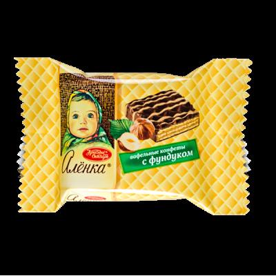конфеты весовые АЛЕНКА с фундуком 1 уп х 2 кг
