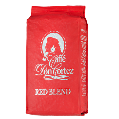 кофе CAFFE DON CORTEZ RED BLEND 1 кг зерно 1 уп.х 6 шт.