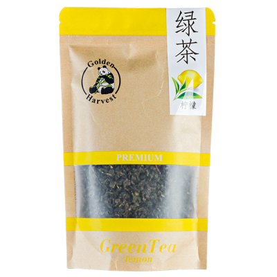 чай GOLDEN HARVEST Premium Green Tea Lemon 75 гр.