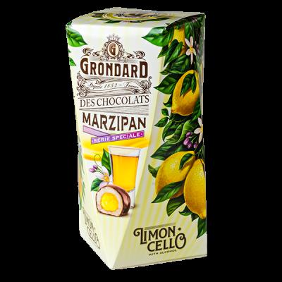 конфеты GRONDARD МАРЦИПАН LIMONCELLO 140 г 1 уп. х 8 шт.