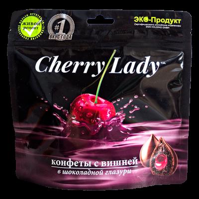 конфеты CHERRY LADY с Вишней в Шок Глазури 140 г 1 уп.х 20 шт.