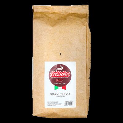кофе CARRARO GRAN CREMA 1 кг зерно