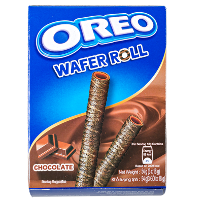 печенье Орео WAFER ROLL CHOCOLATE 54 г 1уп.х 20 шт.