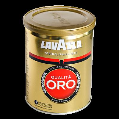 кофе LAVAZZA QUALITA ORO 250 г ж/б молотый 1 уп.х 12 шт.