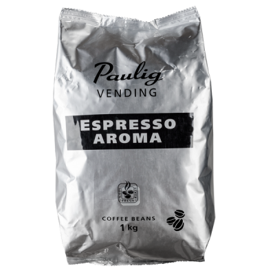 кофе PAULIG VENDING ESPRESSO AROMA 1 кг зерно 1 уп.х 4 шт.