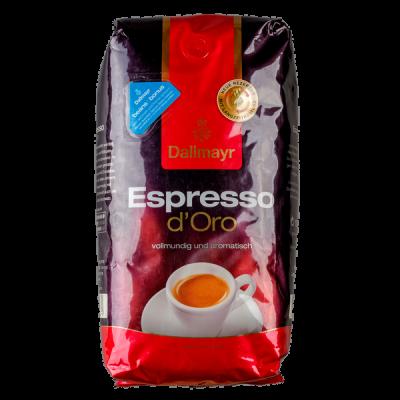 кофе DALLMAYR ESPRESSO D ORO 1 кг зерно