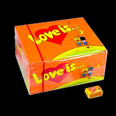 жевательная резинка LOVE IS... 1 уп.х 100 шт.