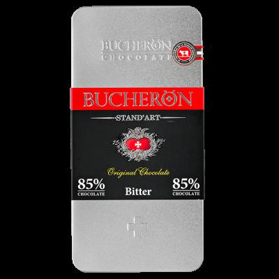 шоколад BUCHERON ж/б 85% Горький 100 г 1уп.х 10 шт.