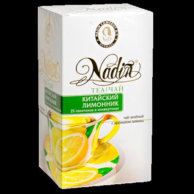 чай NADIN 'Китайский лимонник' 25 пакетиков 1 уп.х 12 шт.