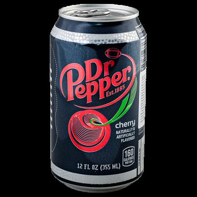 Напиток Dr Pepper Черри 355 мл ж/б 1 уп.х 12 шт.