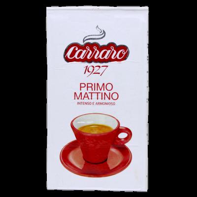 кофе CARRARO PRIMO MATTINO 250 г молотый 1 уп.х 20 шт.