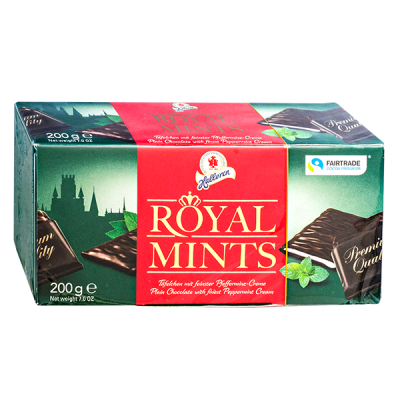конфеты HALLOREN Royal Mints 200 г 1уп.х 16 шт.