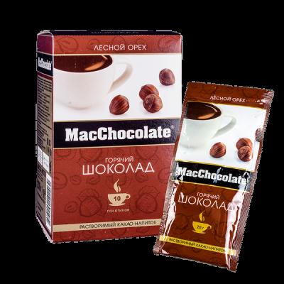 напиток Какао Макшоколад Лесной Орех 20 г 1 уп.х 10 шт.