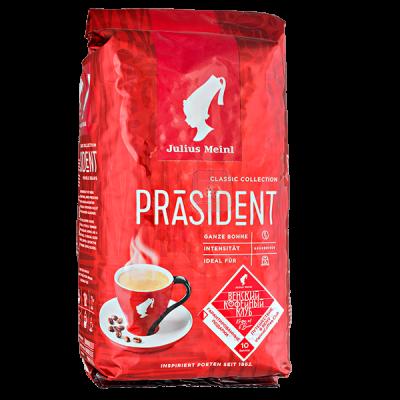 кофе Julius Meinl PRASIDENT 500 г зерно