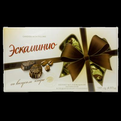 конфеты Эскаминио со вкусом Кофе 141 г Спартак 1 уп. х 9 шт.