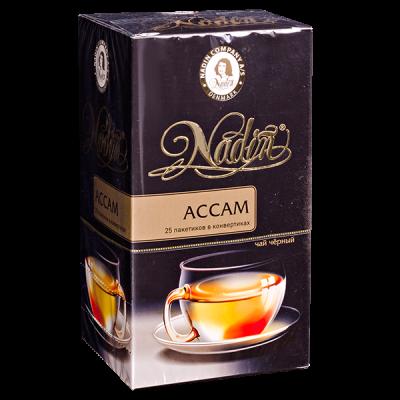 чай NADIN 'Ассам' 25 пакетиков 1 уп.х 12 шт.