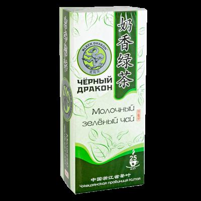 чай Чёрный Дракон 'Молочный зелёный' 25 пакетиков 1 уп.х 18 шт.