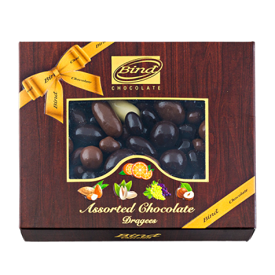 конфеты BIND CHOCOLATE Assorted Chocolate Dragees 100 г 1 уп.х 12 шт.