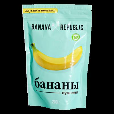 Бананы Сушеные BANANA REPUBLIC 200 г 1 уп.х 20 шт.