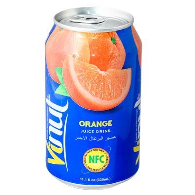 напиток VINUT Orange 330 мл  Ж/Б 1 уп.х 24 шт.