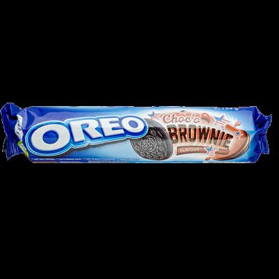 печенье Орео Choco Brownie 154 г 1уп* 16 шт
