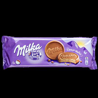 печенье Милка Choco Wafer 150 г 1 уп.х 14 шт.