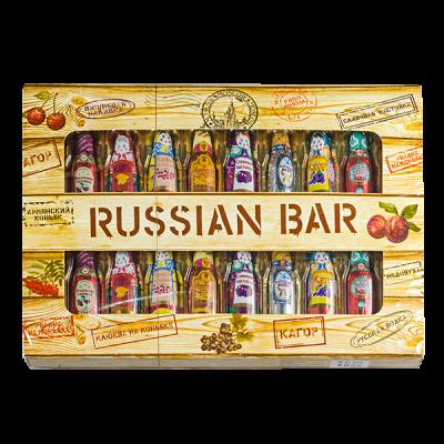 конфеты BAR RUSSIAN 240 г 1 уп. х 10 шт.