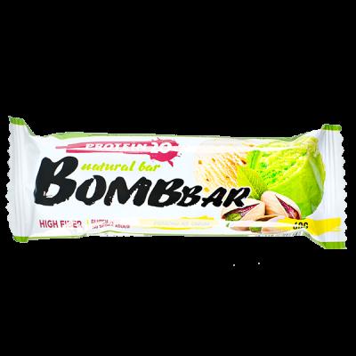 Батончик Bombbar протеиновый PISTACHIO ICE CREAM 60 г 1 уп.х 20 шт.