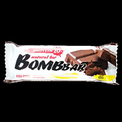 Батончик Bombbar протеиновый CHOCOLATE 60 г 1 уп.х 20 шт.