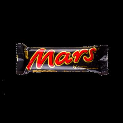 батончик Марс 50г 1 уп.х32 шт. или 1 уп.х36 шт.