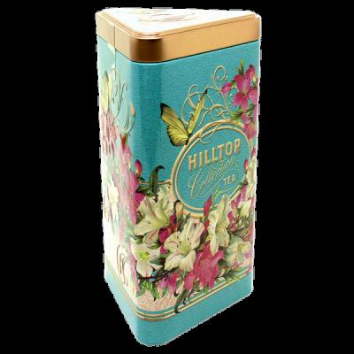 чай HILLTOP в подарочном трехграннике 'Букет лилий' ж/б 80 г 1 уп.х 14 шт.