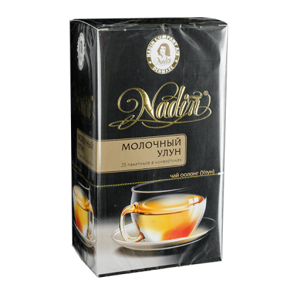 чай NADIN 'Молочный Улун' 25 пакетиков 1 уп.х 12 шт.
