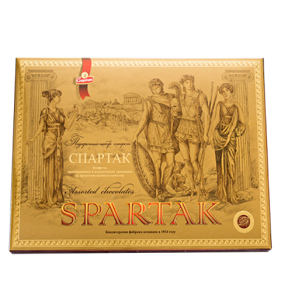 конфеты Спартак 375 г 1уп.х 5шт.