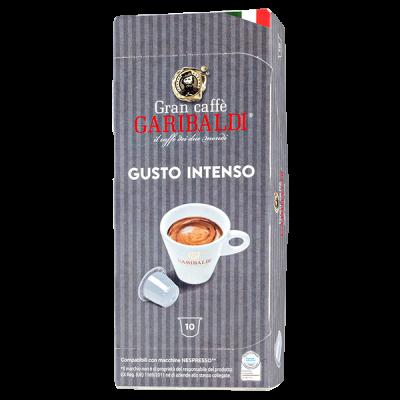 кофе капсулы GARIBALDI GUSTO INTENSO 1уп х  10 капсул