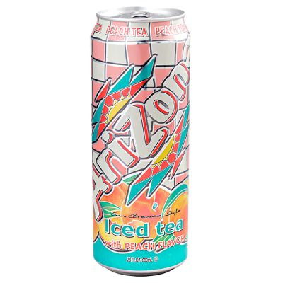 напиток ARIZONA Iced Tea with Peach Flavor 680 мл  Ж/Б 1 уп.х 24 шт.