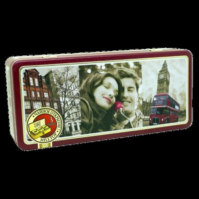 чай HILLTOP в жестяной шкатулке набор 'Прогулки по Лондону' 150 г 1 уп.х 8 шт.
