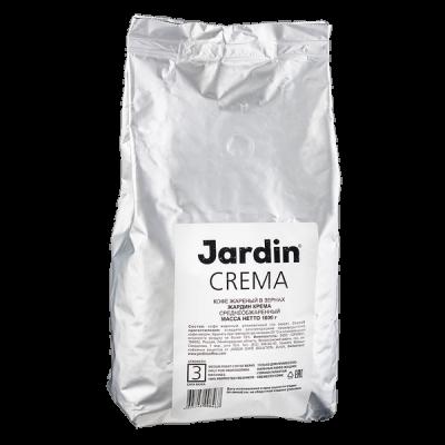 кофе ЖАРДИН КРЕМА 1 кг зерно 1 уп.х 6 шт.