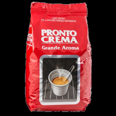 кофе PRONTO CREMA GRANDE AROMA 1 кг зерно 1 уп.х 6 шт.