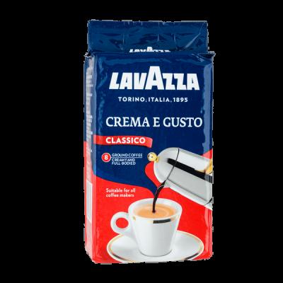 кофе LAVAZZA CREMA E GUSTO 250 г молотый 1 уп.х 20 шт.