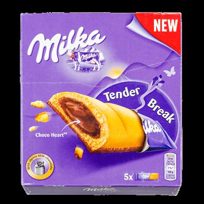 печенье Милка Tender Break 130 г 1 уп.х 12 шт.