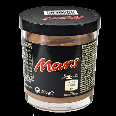 шоколадная паста MARS 200 г 1 уп.х 6 шт.