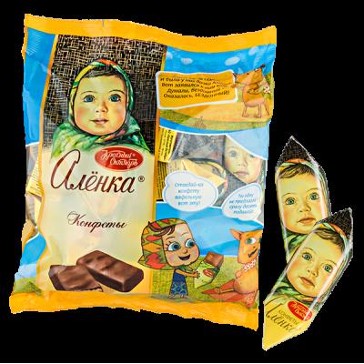 конфеты АЛЕНКА фасованные 250 г 1 уп. х 10 шт.