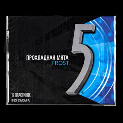 жевательная резинка FIVE ПРОХЛАДНАЯ МЯТА FROST 31,2 г