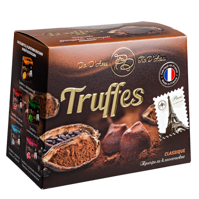 конфеты MATHEZ PoD'Aree Трюфель классический 160 г 1 уп.х 12 шт.