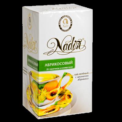 чай NADIN 'Абрикосовый' 25 пакетиков 1 уп.х 12 шт.