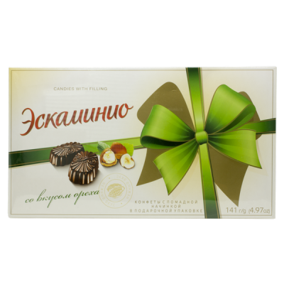 конфеты Эскаминио со вкусом Ореха 141 г Спартак 1 уп. х 9 шт.