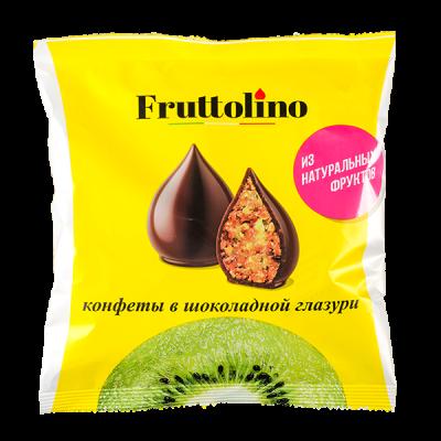 конфеты FRUTTOLINO киви в шокол глазури 140 г 1 уп.х 14 шт.