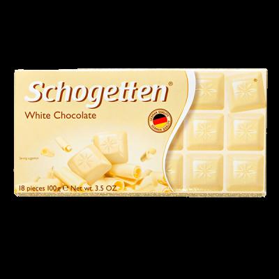шоколад SCHOGETTEN White Chocolate 100 г 1уп. х 15шт.